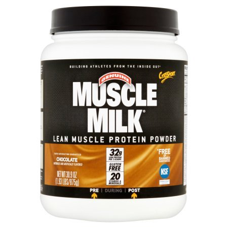 Muscle Milk Protein Powder Chocolate - 1.93 lbs (Pack of 2)