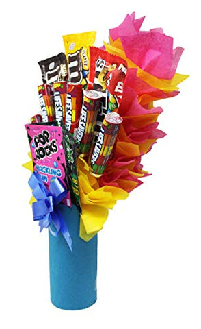 Appreciation Candy Bouquet Many & Many Thanks for Being a Lifesaver