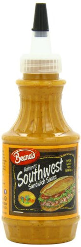Beano's Sandwich Southwest Sauce, 8 Ounce (Pack of 12)