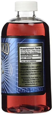 Meso Gold â® 20 Ppm Colloidal Gold 250 M L/8.45 Oz