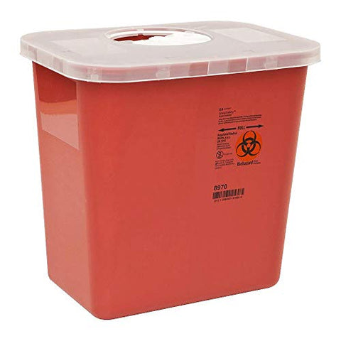 Kendall Multi-Purpose Sharps Containers 2 Gallon 10