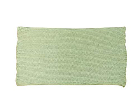 Unisex Tummy Band 100% Merino Wool Belly Kidney Waist Warmer haramaki Pregnant Women Men Knit Knitted (M, Light Green)