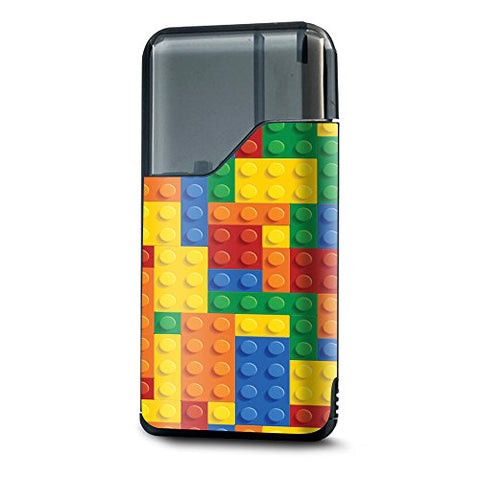 Skin Decal Vinyl Wrap for Suorin Air Kit Vape skins stickers cover / Playing Blocks Bricks Colorful Snap
