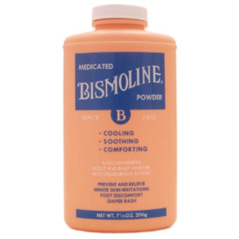 Bismoline Body Powder, 7-1/4 Ounce, Code, 01270 - Sold by: Pack of One