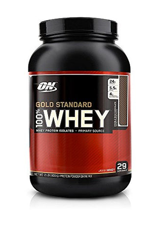 Optimum Nutrition 100 Whey Protein Gold Standard Double Rich Chocolate 2 lb(s).