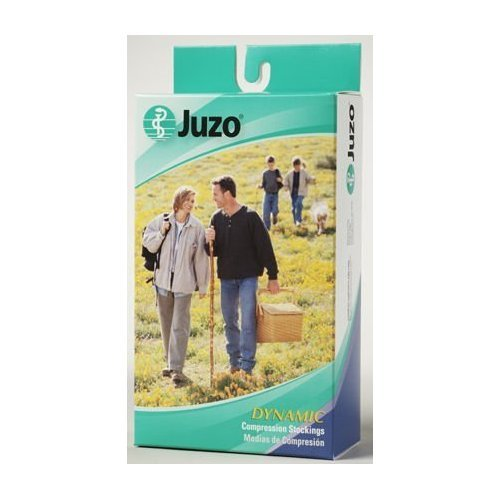 Juzo Soft 2002ADFF Closed Toe Knee High (30-40 mmHg), Knee, Black , IV