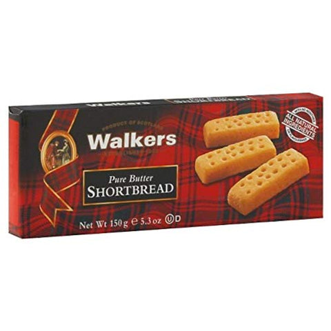 Walkers Shortbread Vanilla 5.3 OZ (Pack of 12)