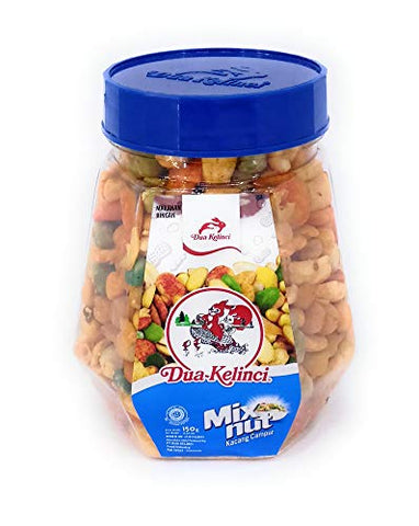 Dua Kelinci Mix Nut, 150 Gram (Pack of 4)