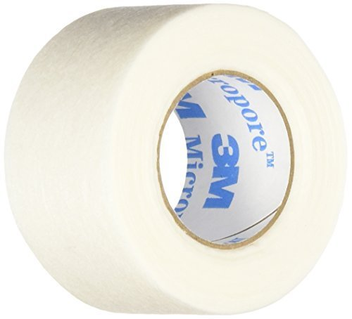 "3m Micropore Paper Tape - Tan, 1"" Wide -1 Roll [Health & Beauty]"