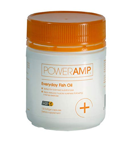 PowerAmp Everyday Fish Oil | 360mg EPA & 240mg DHA | Informed-Sport Accredited