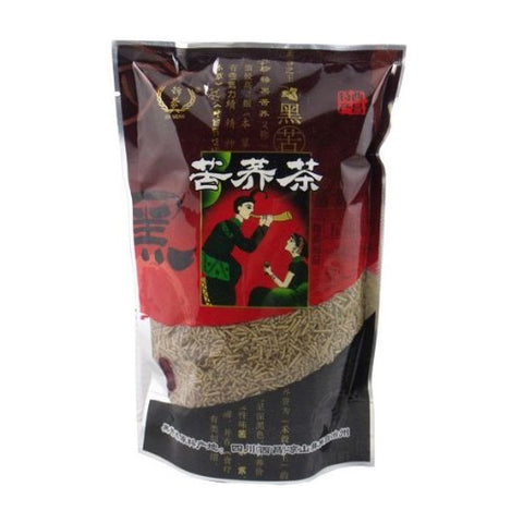 Lower Three-high Black Bitter Buckwheat Tea Body Slimming Tea 500g Health Tea