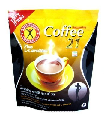 Naturegift Instant Coffee Mix 21 Plus L-carnitine Slimming Weight Loss Diet