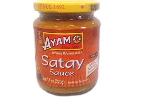 Satay Sauce - 7.7oz (Pack of 8)