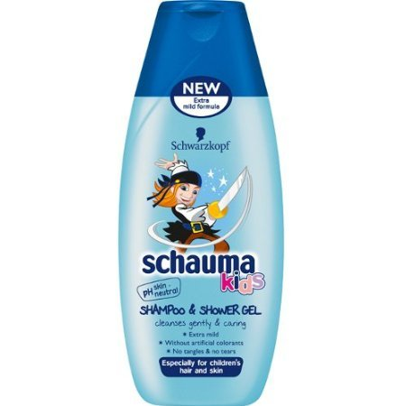 Schwarzkopf Schauma Kids Shampoo & Shower Gel 250 ml / 8.34 fl oz