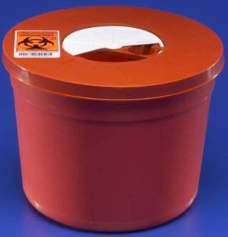 Kendall 8950SA Sharps Multi-Purpose Container - 5 quart