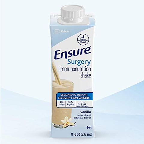 Ensure Surgery Immunonutrition Shake, Vanilla, 8 fl oz, 15 Count