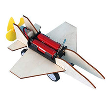 Promote Intellectual Development DIY Airplane, Airplane Model, Durable and Safety Boys Travel Home for Kids(Combat Glider)
