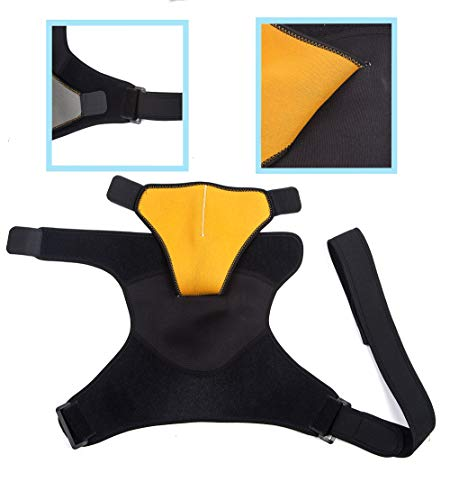 Shoulder Brace For Ac Joint & Tendinitis. Shoulder Support For Pain Relief & Injury Prevention. Comp