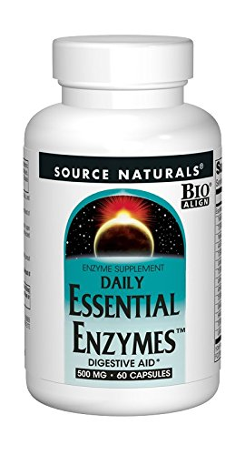 Source Naturals Essential Enzymes 500mg Bio Aligned Multiple Enzyme Supplement Herbal Defense For Di