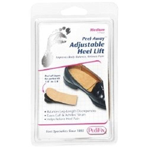 Heel Lift Peel-Away Medium Without Fastening Left or Right Foot