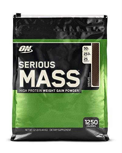 Optimum Nutrition Serious Mass Weight Gainer Protein Powder, Vitamin C, Zinc And Vitamin D For Immun