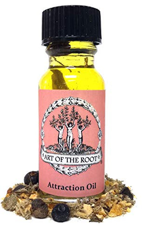Attraction Oil for Money, Love & Career Hoodoo Wicca Pagan Voodoo Santeria