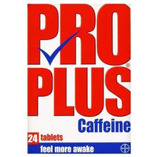 Pro Plus Caffeine - 96 Tablets (4 x 24) by ProPlus