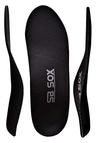 Sb Sox Arch Support Shoe Insert Insoles For Men & Women (Pair) â?? Provides Comfort, Cushion, Arch S