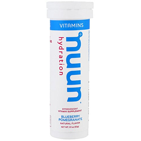 NUUN Blueberry Pomegrante Vitamin Drink Tabs, 12 CT