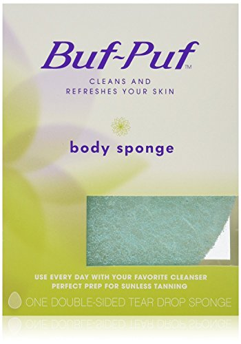 Buf-Puf Double-Sided Body Sponge, 6 Count