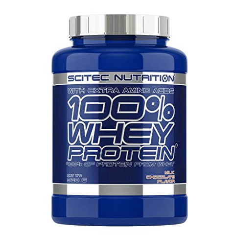 100% whey Protein - 2 lbs - Milk Chocolate - Scitec nutrition
