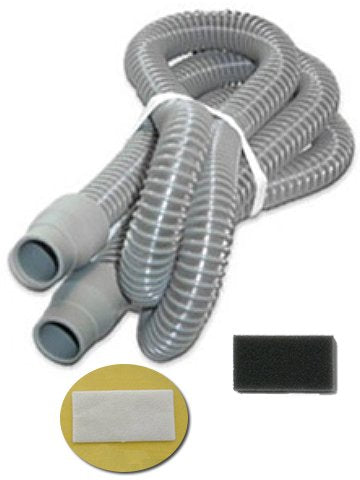 Replacement tubing and filter Kit for Respironics M-Series CPAP Machines