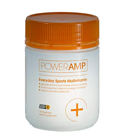 PowerAmp Everyday Sports Multivitamin | High Potency for Endurance Sports | Informed-Sport Accredited