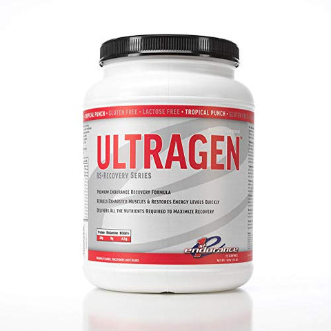 First Endurance Ultragen Recovery Drink Tropical