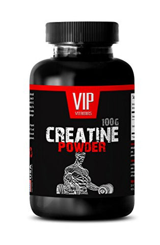 Creatine Monohydrate Powder Unflavored - CREATINE MONOHYDRATE Powder 100g - Post Workout Recovery (1 Bottle)