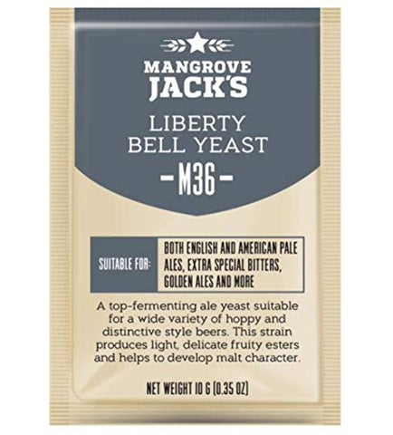 Mangrove Jacks Craft Series Yeast M36 Liberty Bell Ale 10g)