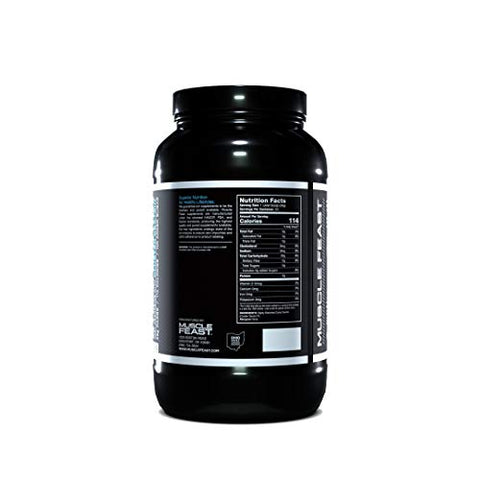 MUSCLE FEAST Highly Branched Cyclic Dextrin | Premium Pre-Workout or Post-Workout | Easy to Mix, Gluten-Free, Safe and Pure (1000g, Unflavored)