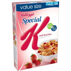 KELLOGG'S SPECIAL K CEREAL RED STRAWBERRIES 14.7 OZ