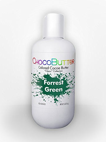Forrest Green - Colored Cocoa Butter