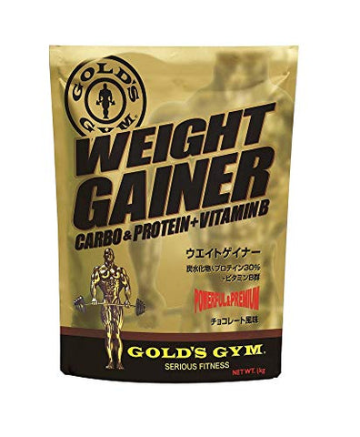Gold's GYM Weight Gainer Chocolate Flavor 1kg