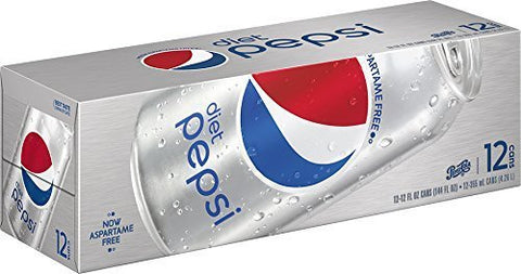 Diet Pepsi Cola - 36/12 oz. cans by Pepsi