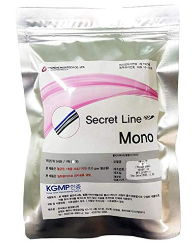 Secret Line PDO Thread Lift Mono-Type (50pcs per Pack) (29G X 25mm)