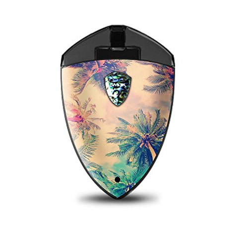 Skin Decal Vinyl Wrap for Smok Rolo Badge Vape stickers skins cover/ Coconut Trees