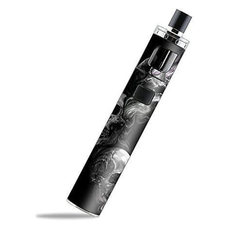 Skin Decal Vinyl Wrap for Aspire PockeX AIO Kit Vape skins stickers cover/ glowing Skulls in Smoke