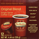 Image of Tim Hortons Single Serve Real Cup Coffee, 0.59 Pound