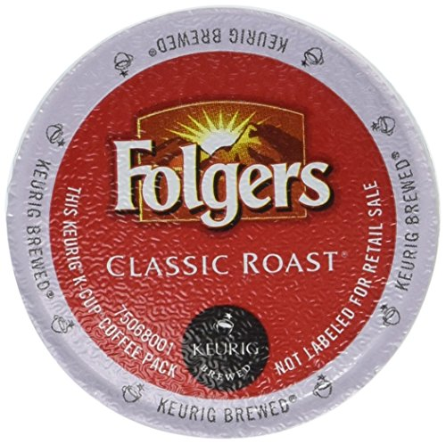 Folgers Gourmet Selections Classic Roast Coffee Keurig K-Cups, 36 Count