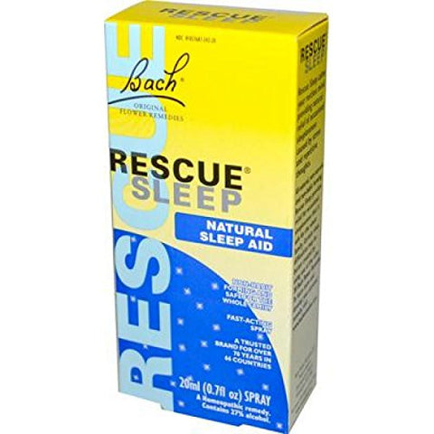 Bach Flower Remedies Rescue Sleep Natural Sleep Aid - 20 mL