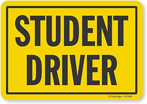 SmartSign Student Driver Sign | 7