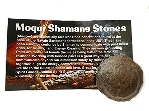 Azeztulite Mine Direct Moqui Shaman's Stone Male
