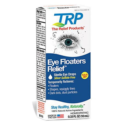 The Relief Products Eye Floaters Relief Eye Drops, 0.33 fl. oz